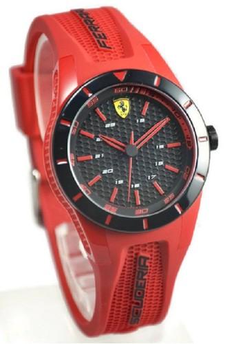 Ferrari - Jam Tangan Wanita- Merah - Strap Rubber F0840005