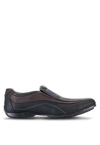 Louis Cuppers black Casual Loafers LO977SH57RCCMY_1