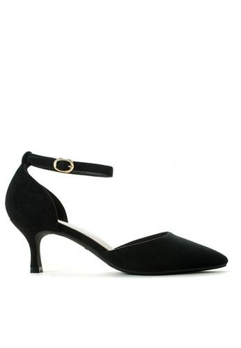 Twenty Eight Shoes 黑色 尖頭中踭鞋165-1 97165SH0A93D0DGS_1