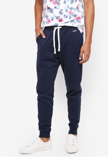 Hollister navy Skinny Icon Sweatpants DAFA5AAFB38E50GS_1