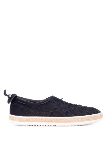 Onitsuka Tiger black Delegation Light Lace-up Sneakers 87E31SH5FC660AGS_1