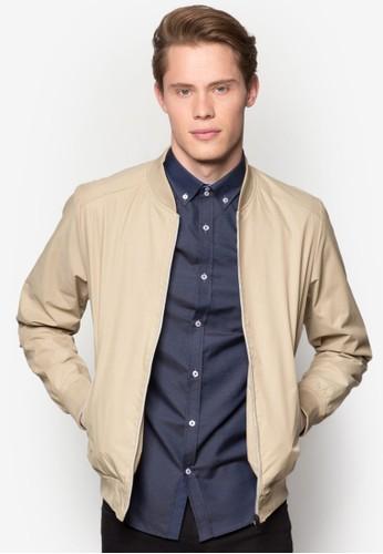 Stoneesprit台灣 Bomber Jacket, 服飾, 休閒外套及風衣