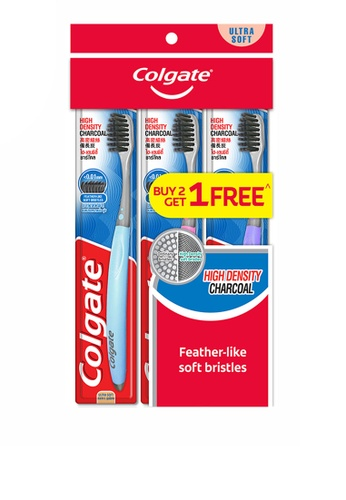 COLGATE Colgate High Definition Charcoal Toothbrush Valuepack 3s (Ultra Soft) A0DCDES2E68E5DGS_1