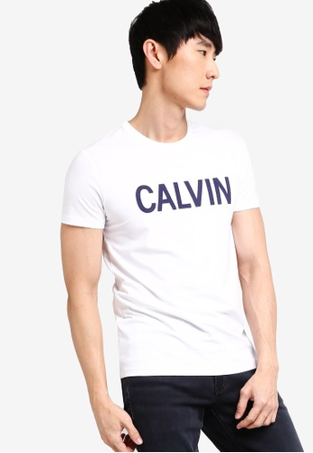 quality first best value detailed pictures Chest Emboss CK Logo Short Sleeve T-Shirt - Calvin Klein Jeans