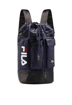 0e7b5cce251 Fila navy FILA LOGO Backpack F0CD8AC960EAEFGS_1
