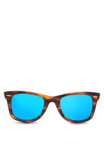Ray-Ban brown Original Wayfarer RB2140 Sunglasses RA941GL38VYNID 1 447d1f67d4