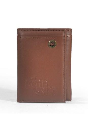 "Evano Men""s Wallet Red - Maroon - CBR SIX"