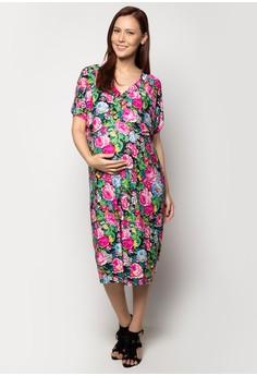 Maternity Midi Dress