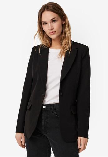 Vero Moda black Long Sleeved Blazer 66B26AA1D5B03CGS_1