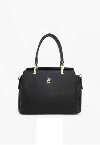 Beverly Hills Polo Club black Beverly Tote Handbag F1B2EAC7C854E4GS 1 9d4a880423