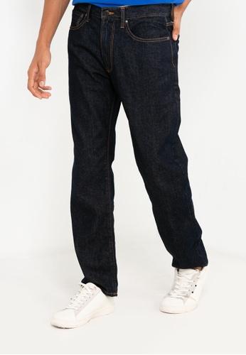 GAP blue V-Straight Jeans 72B40AAC5F5773GS_1