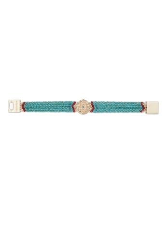 2641cb21067f45 Buy HIPANEMA Bracelet Venus Turquoise Online on ZALORA Singapore