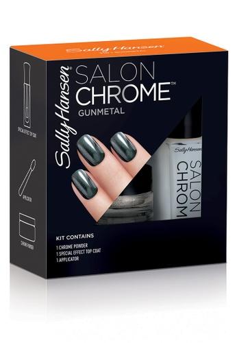 Sally Hansen grey Chrome Powder Kits - Gunmetal 735B4BE91522ADGS_1