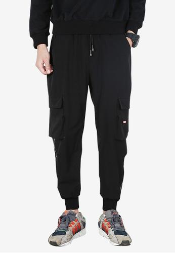 hk-ehunter black Men Jogger Pants 94385AAF15926EGS_1