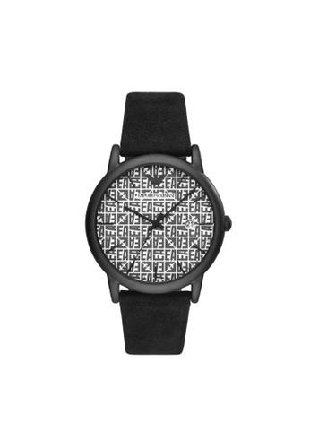 Emporio Armani black Luigi Watch AR11274 1AEECAC5E1A8FAGS_1