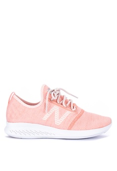 fe5a77b1503a New Balance pink Fuelcore Coast V4 Fr Performance Shoes 0F658SHCD3913DGS 1