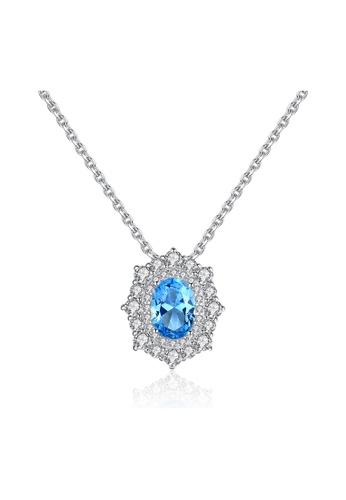 SUNRAIS silver Premium Silver S925 Silver Fashion Necklace B1356ACCC29E18GS_1