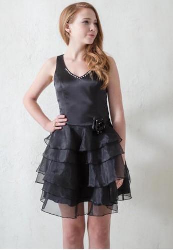 紐約Party甜心V領背心式澎紗蛋糕裙小禮服esprit outlet台北, 服飾, 派對洋裝