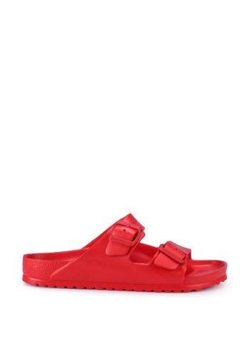 Birkenstock red Arizona EVA Sandals 18C69SHACC3B26GS_1