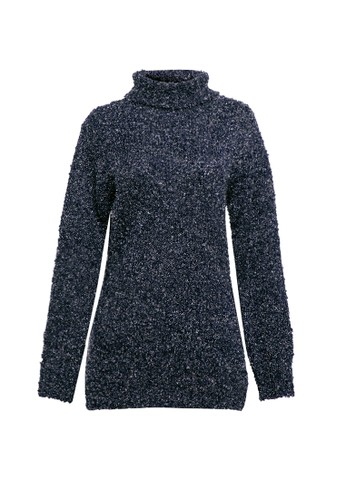 VOYANT BY MEGUMI navy Woman Turtle Neck Long Sleeve Chunky Knit 9DEF3AA13C80D3GS_1