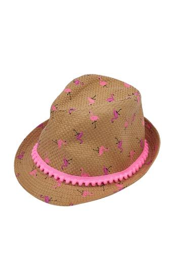 Du Pareil Au Même (DPAM) white Straw Hat 2791AKCAB36059GS_1