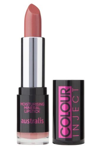 Australis Colour Inject Moisturising Lipstick - Ballet AU782BE27DXWSG_1