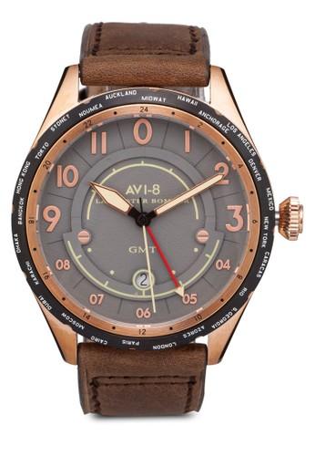 Lancaster Bombzalora 內衣er 皮革手錶, 錶類, 休閒型