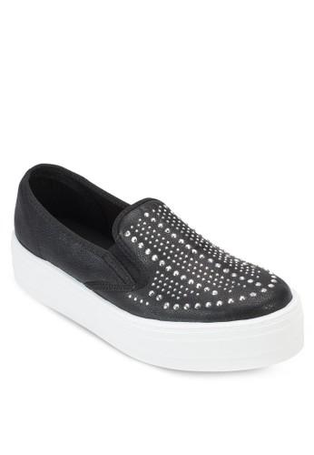 厚底鉚釘懶人esprit 台灣鞋, 女鞋, 鞋