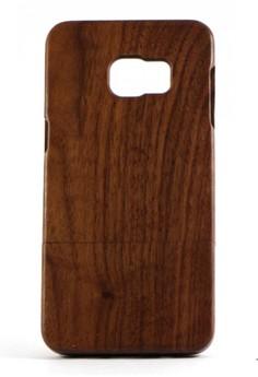 Genuine Wood Full Cover for Samsung S6 Edge