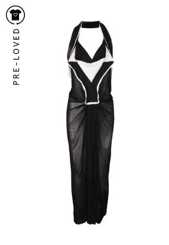 Donna Karan black Pre-Loved donna karan Long Black Dress 56EEEAAA3C922DGS_1