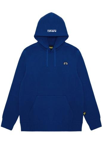 Mini cream blue MNC Eyes hoodie 23A37AA3851BB9GS_1