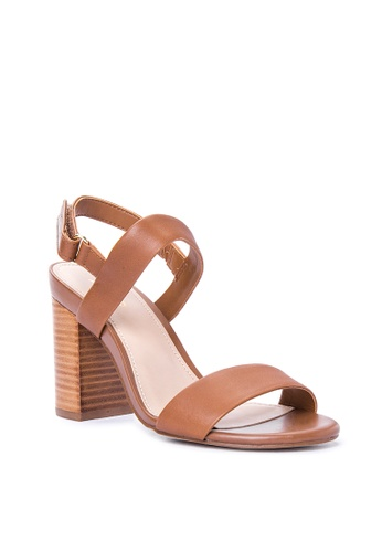 ALDO brown Juliett Heel Sandals AL087SH0IO8YPH_1