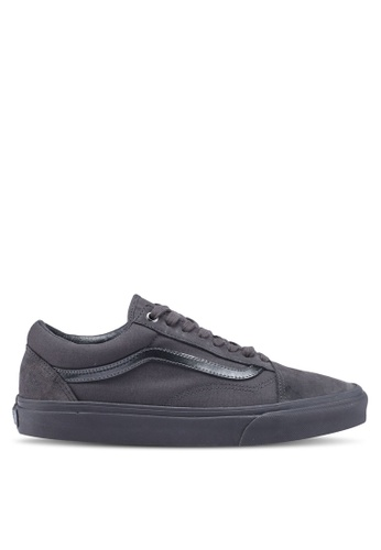 VANS grey Old Skool Mono Metallic Sneakers VA142SH0SWWAMY_1