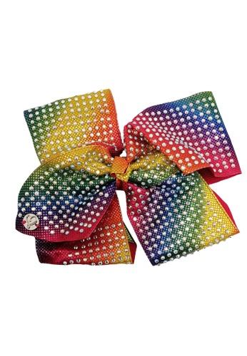 Jojo Siwa multi Jojo Siwa Bow With Clip (Radiant Rainbow Rhinestone) C820CKC8A462D4GS_1