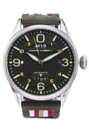 Hawker Harrier Iesprit 品牌I 皮革腕錶, 錶類, 錶類
