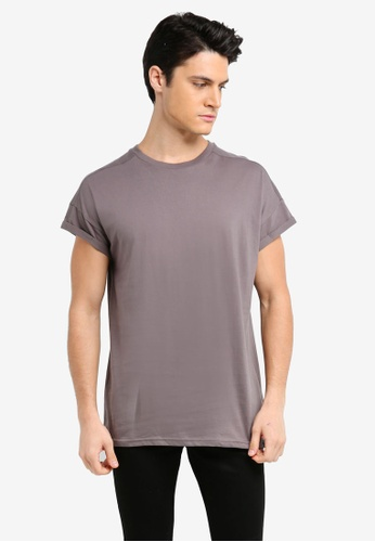 Factorie grey and brown The Cap Tee 9F6CAAA7656E79GS_1