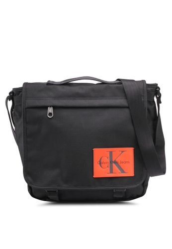 Calvin Klein black Laptop Messenger - Calvin Klein Accessories 6DAE5AC08A67E7GS_1