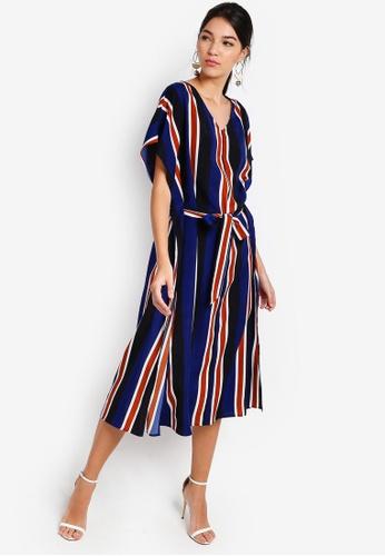 ZALORA multi Kaftan Dress E07BCAA6ED752BGS_1