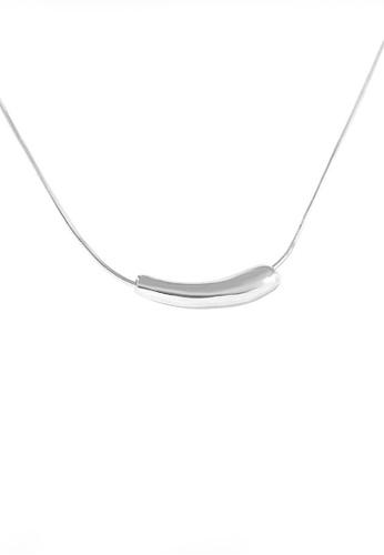 Twenty Eight Shoes silver VANSA Simple Pendant Necklace VAW-N352 DF6B5ACE3DA808GS_1