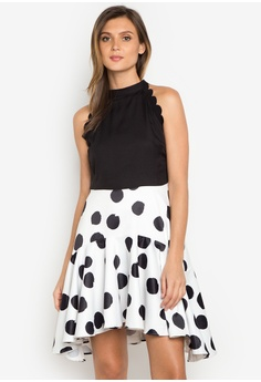 Salitang kilos black and white dresses