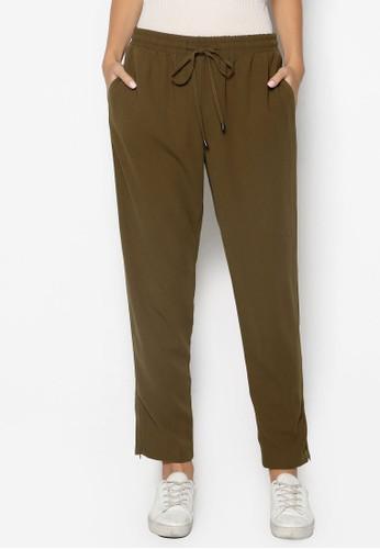 抽繩寬鬆休閒長褲, 服飾, top shop代購長褲及內搭褲