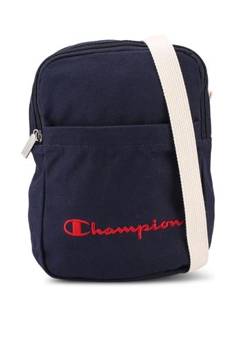 champion navy Japan Range Vertical Shoulder Bag 640F8AC3D9F751GS_1