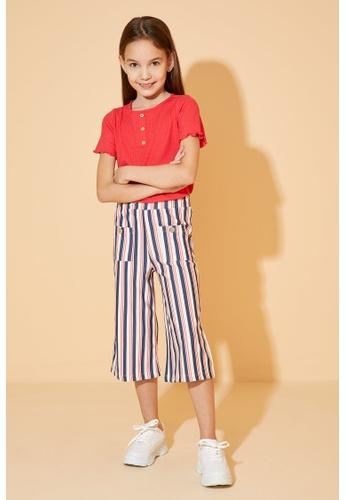 DeFacto beige Girl Knitted Trouser 256A0KAA3678F9GS_1