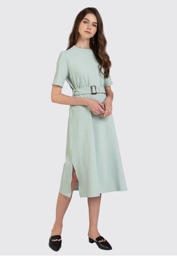 L'zzie green LZZIE MARGARET DRESS - GREEN CCE5BAADA93D5EGS_1