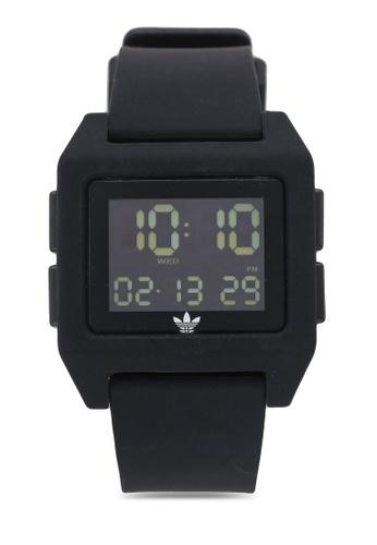 adidas black adidas originals Archive SP1 Watch FE69CACBDCEAA0GS_1