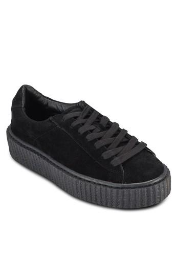 Creeper 厚底布料運動鞋、 女鞋、 鞋PublicDesireCreeper厚底布料運動鞋最新折價