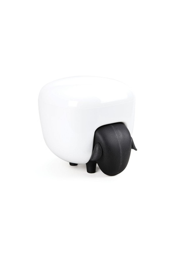 Qualy Qualy Sheepshape Container (Black and White) EC226HL3A9186AGS_1