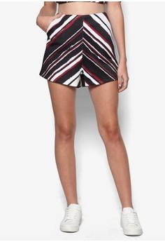 Stripe Print Shorts