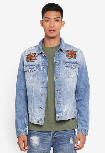 Jack & Jones blue Alvin Jacket FCD2AAA0FBDBF3GS_1
