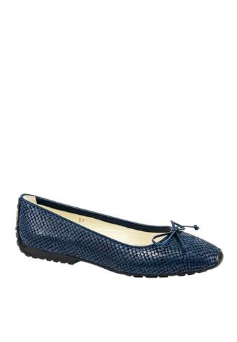 Covet blue French Sole Gabi Ballet Flats CO331SH0J6HSPH_1